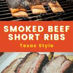 smoked beef short ribs recipe texas style