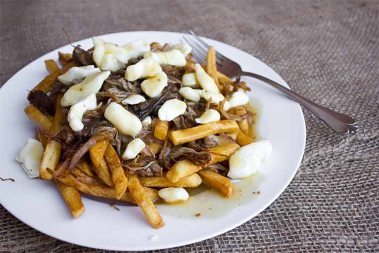 Pulled Pork Poutine with BBQ Gravy