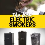 Collage of best electric smokers
