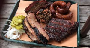 plate of bbq