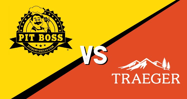 Traeger vs pit boss brand icons