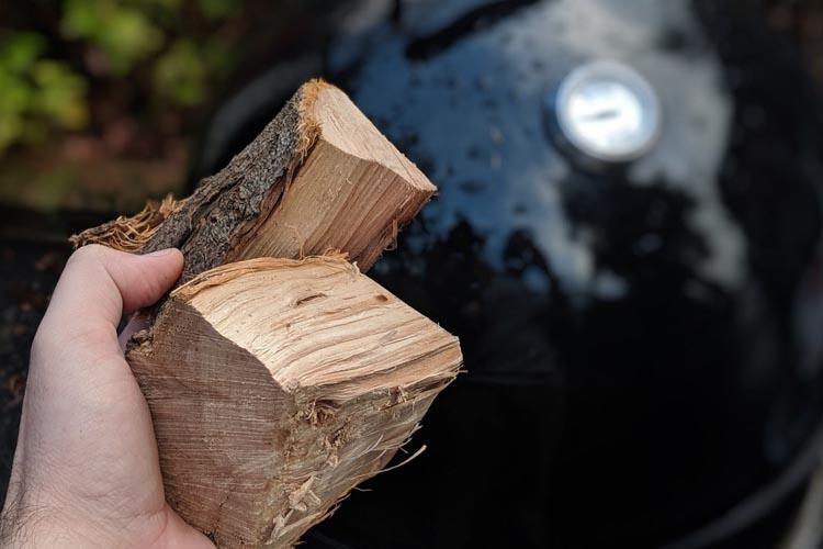 wood chunks for the smoker