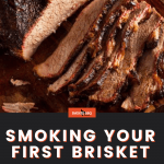 smoke your first brisket