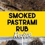 pastrami rub spices