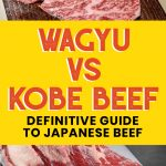 graphic image showing cuts of wagyu and kobe beef