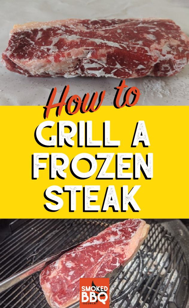 how to grill a frozen steak