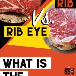 prime rib versus rib eye steak