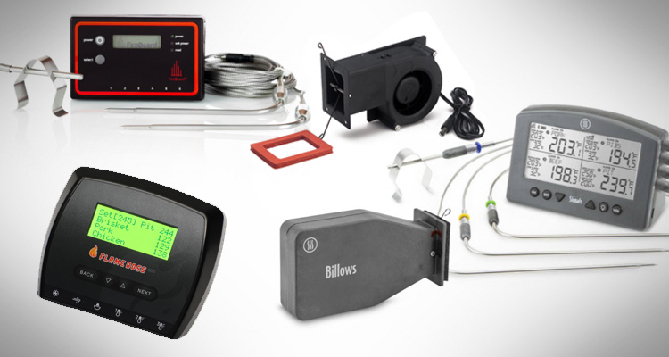 a range of the best bbq automatic temperature controls