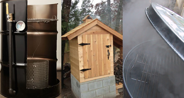 3 different diy smoker designs