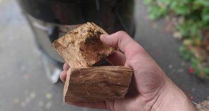 chunks of wood for smoking