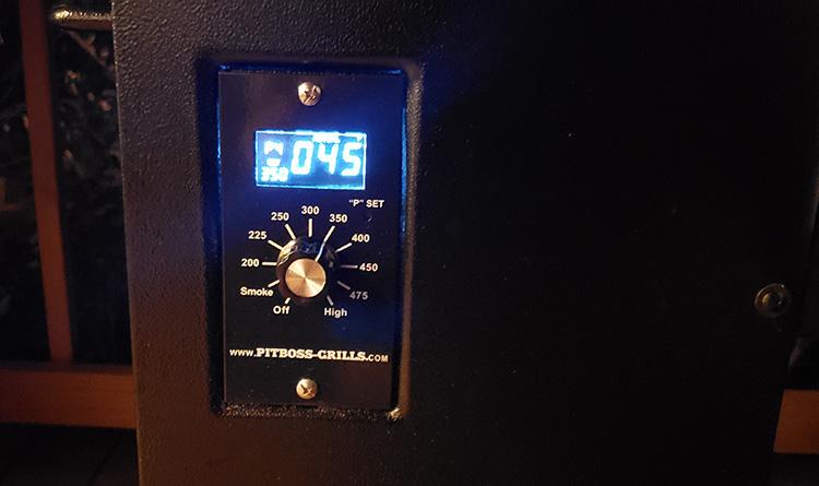 Pit Boss 700FB temperature controller