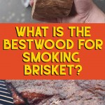 whats the best wood for smoking brisket