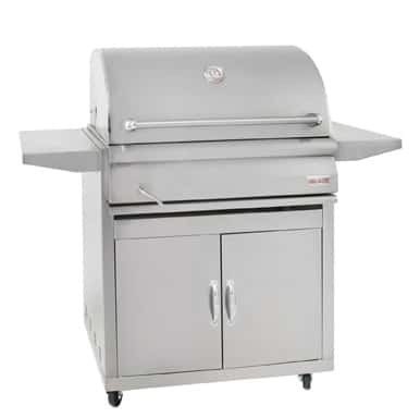 Blaze 32-Inch Stainless Steel Charcoal Grill