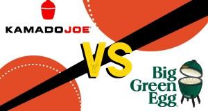 Kamadoe Joe VS Big Green Egg