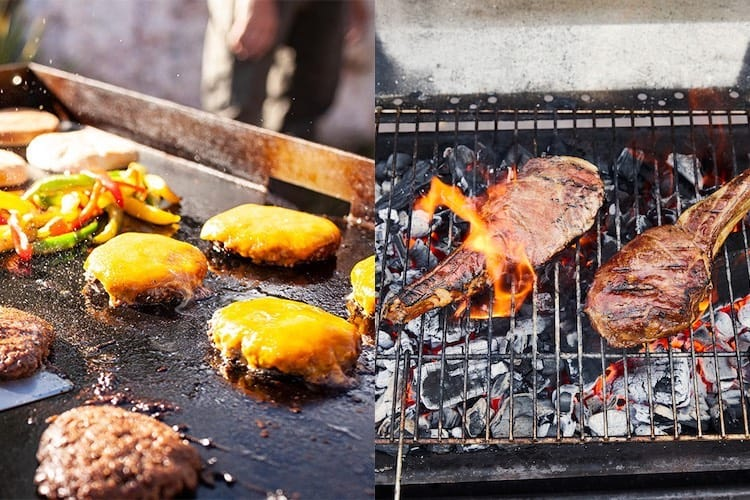Griddle VS Grill – What You Need to Know