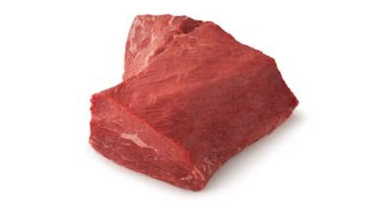 beef bottom round roast raw