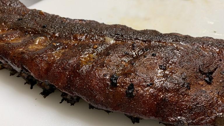 BBQ Ribs the Johnny Trigg Way