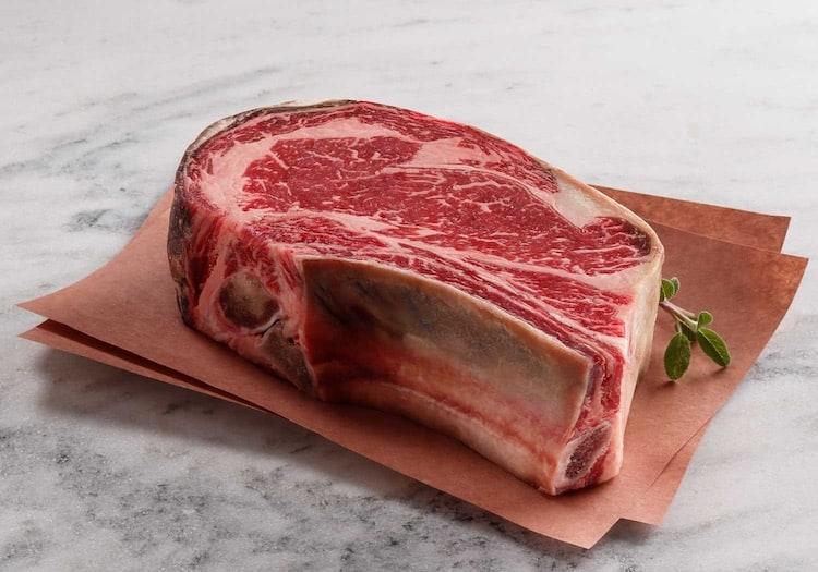 Snake River Farms Dry-Aged USDA Prime Bone-In Ribeye Steak