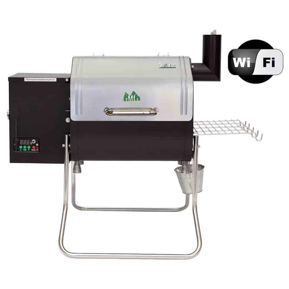 Green Mountain Grills Davy Crockett WiFi Portable Pellet Grill