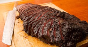 how to slice a brisket