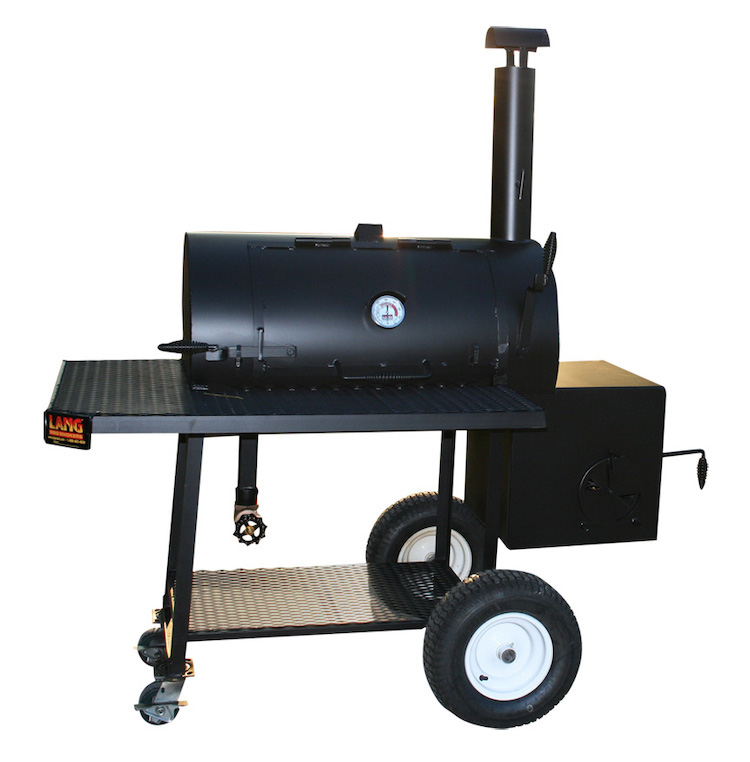 "Lang 36"" Original reverse flow smoker"