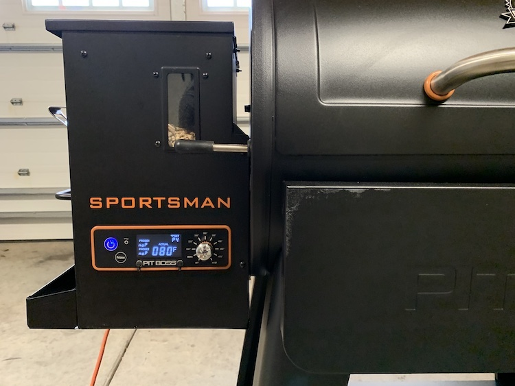 Pit Boss Sportsman 820 LCD Display