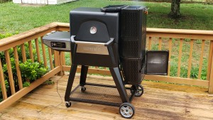 Masterbuilt 560 Gravity Series Charcoal Smoker on Deck
