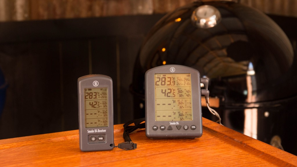 thermoworks smoke x4 thermometer and receiver