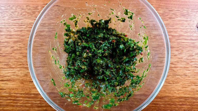 Authentic Chimichurri Sauce