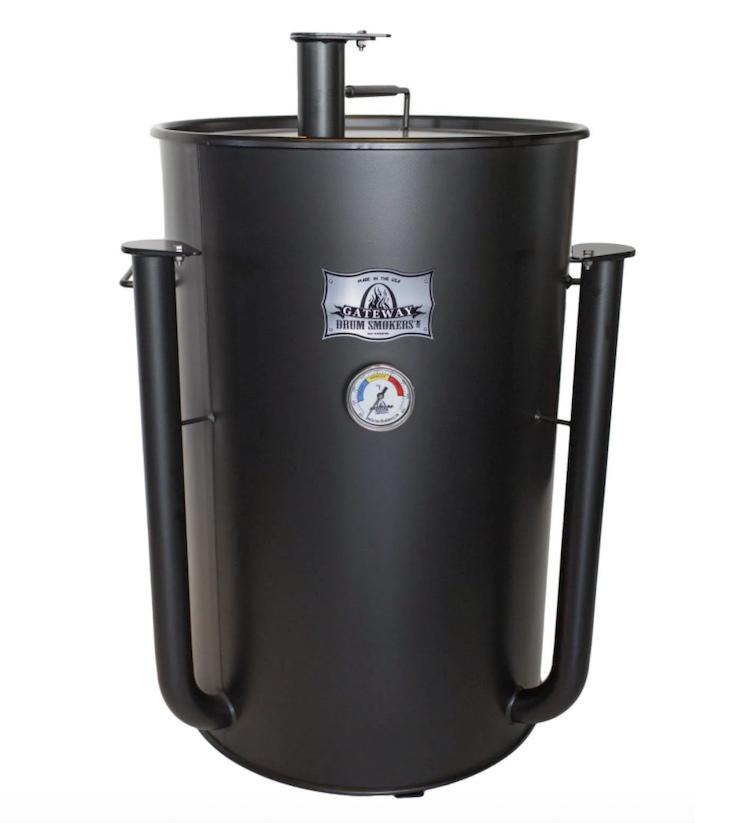 Gateway Drum 55 Gallon Charcoal Smoker