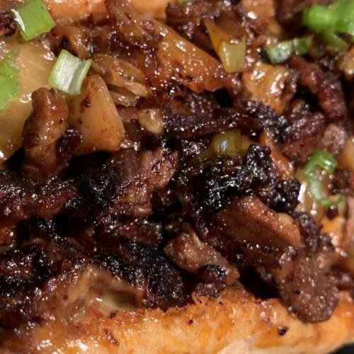 grilled tri-tip steak sandwich