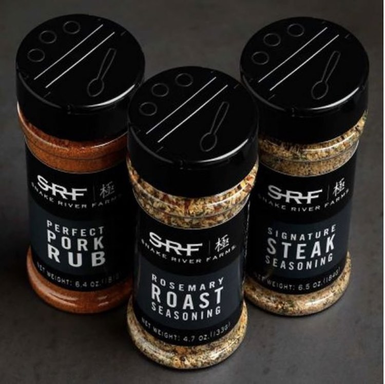 Snake River Farms Custom Seasonings and Rub Trio