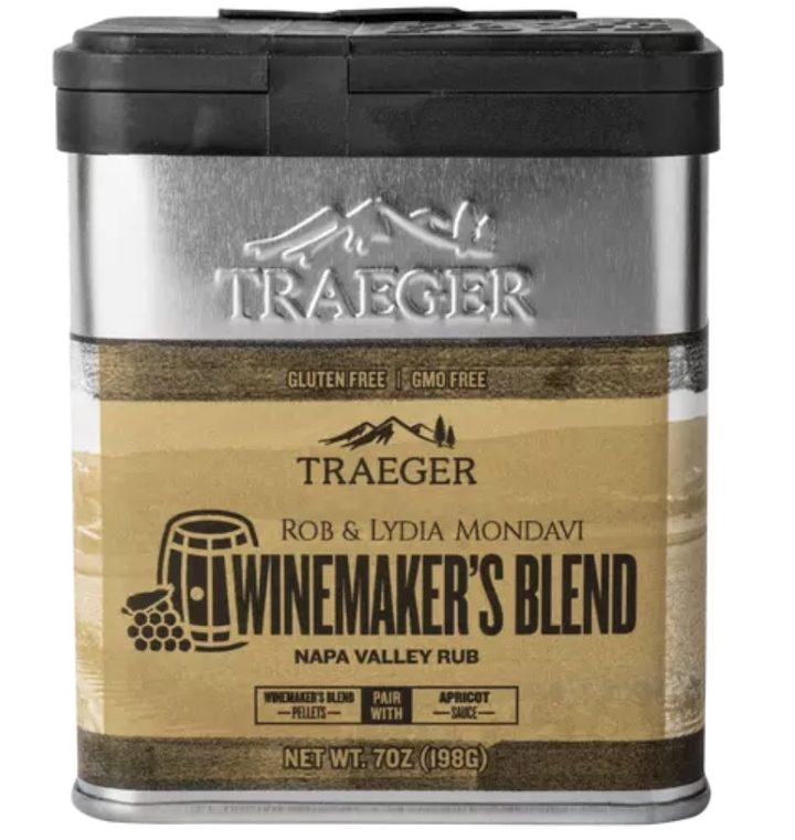 Traeger Winemakers Napa Valley Rub
