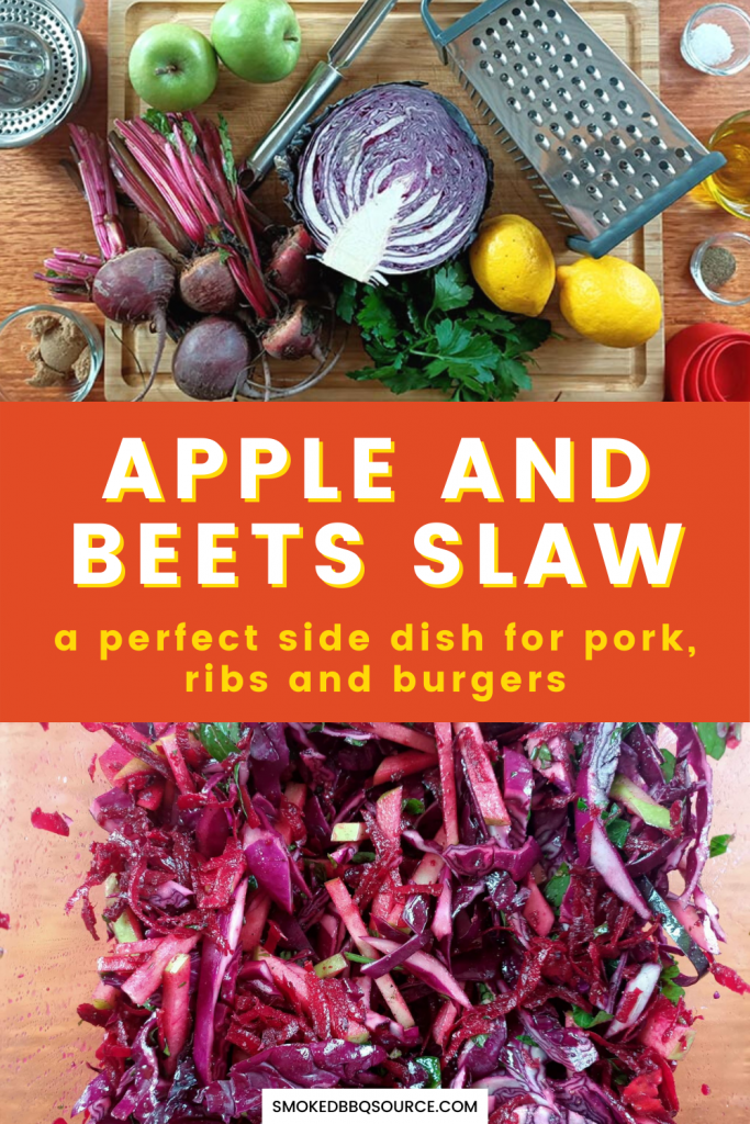apple and beets slaw