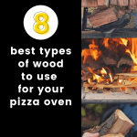 best wood for pizza oven