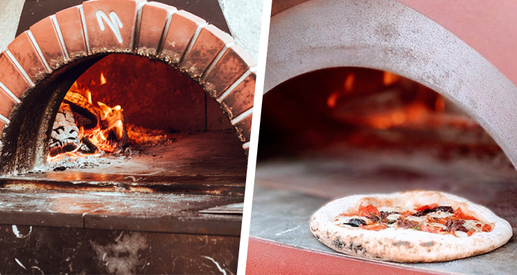 horno de pizza de ladrillo vs acero inoxidable