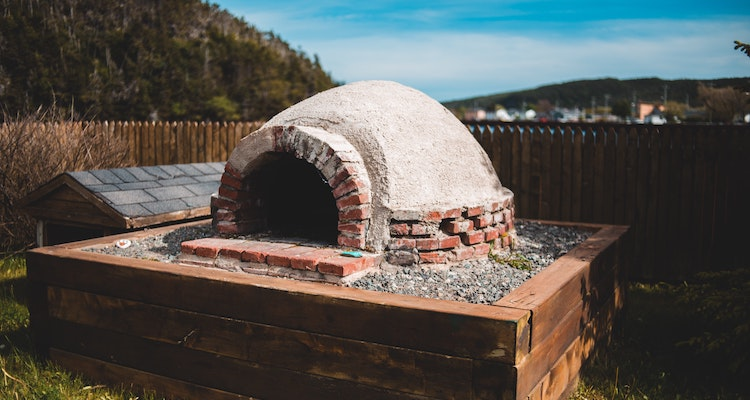 dome brick pizza oven