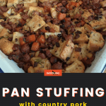 pan stuffing