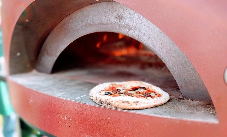 steel pizza oven