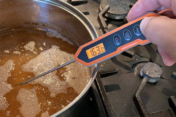 ThermoPro TP15H thermometer with backlit display