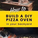 DIY pizza oven pin