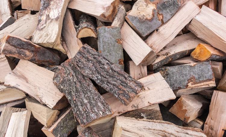 wood logs for smoking