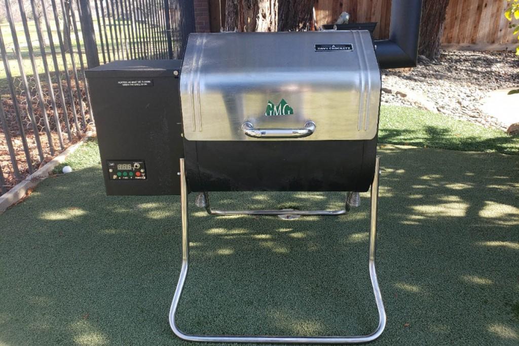 Green Mountain Grills Davy Crockett portable pellet grill