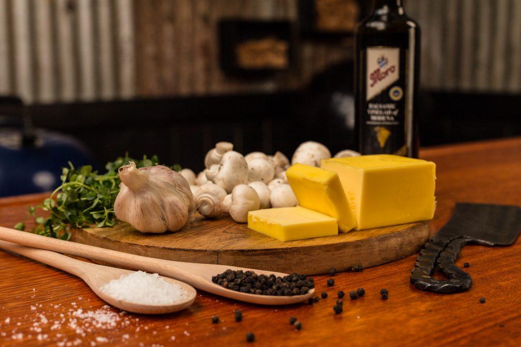 butter garlic mushrooms ingredients