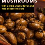 butter garlic mushrooms