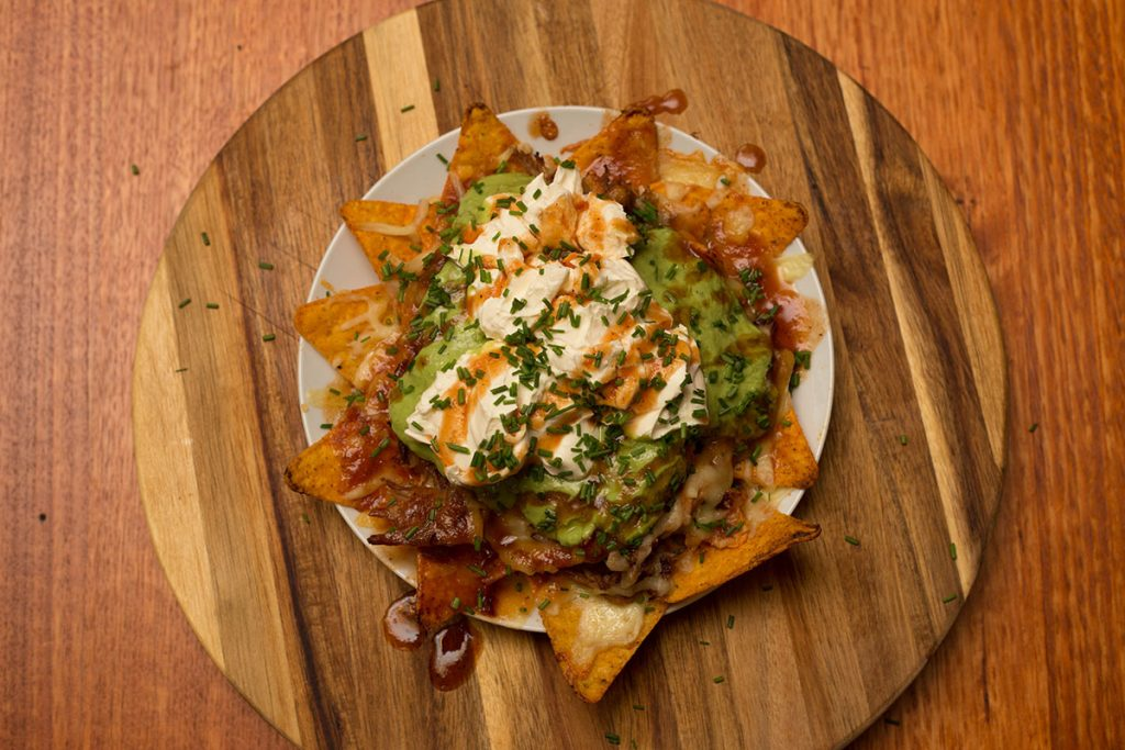 pulled pork nachos