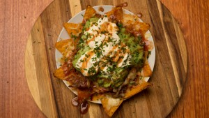 smoked pulled pork nachos