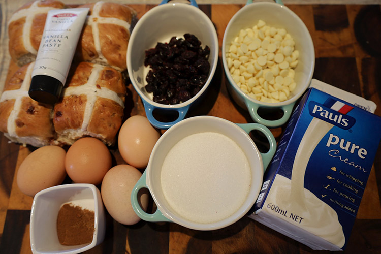 smoked bread pudding ingredients