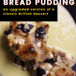 an upgraded version of a classic British dessert