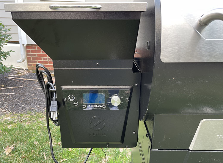 z grills 700d3 display
